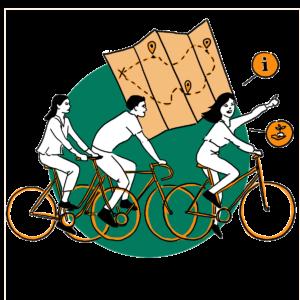 picto balade à vélo cocyclette