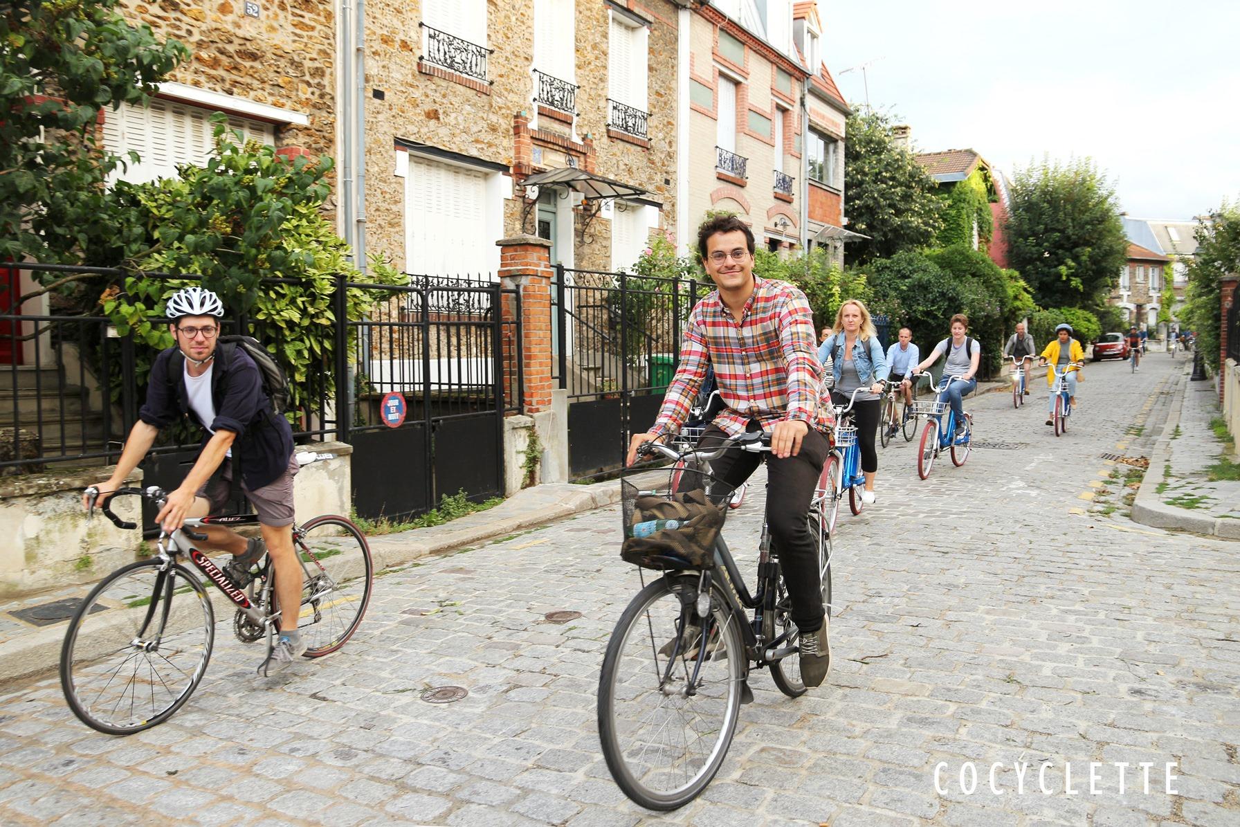 cocyclette balade a velo paris 20e