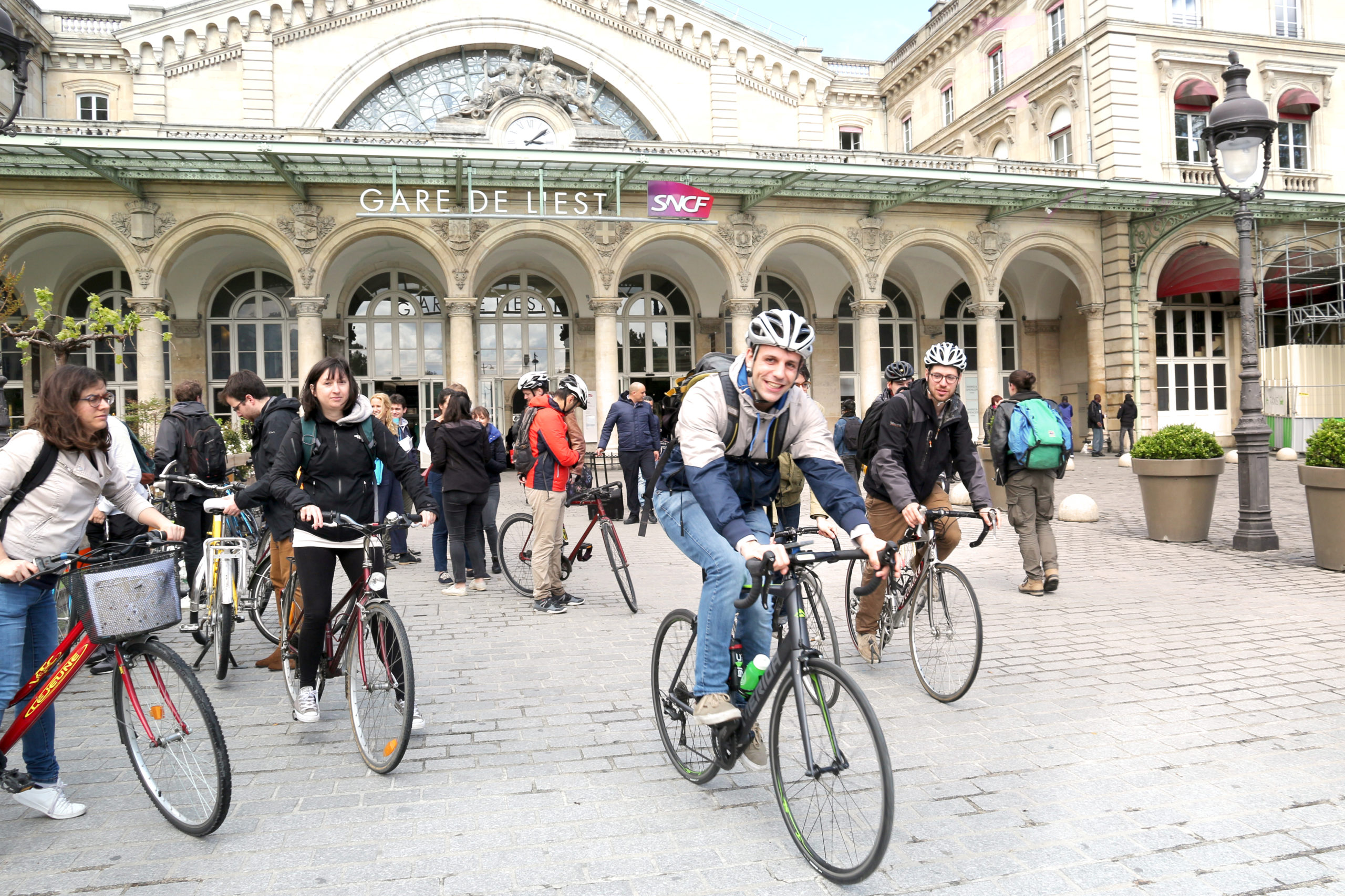 Cocyclette jeu de piste vélo urbain améliorer expérience salariés
