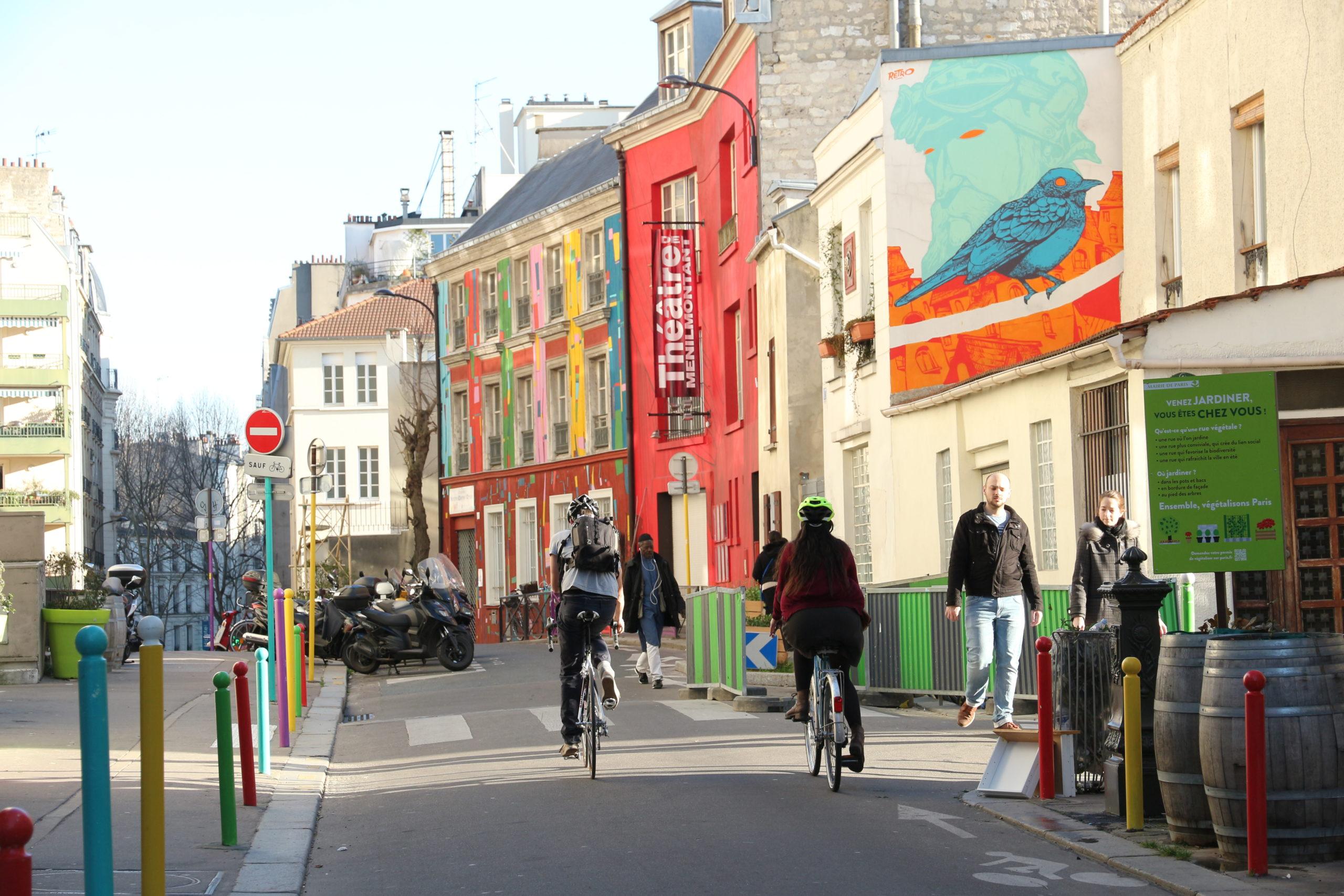 cocyclette balade urbaine vélo paris connecter environnement entreprise impact positif société