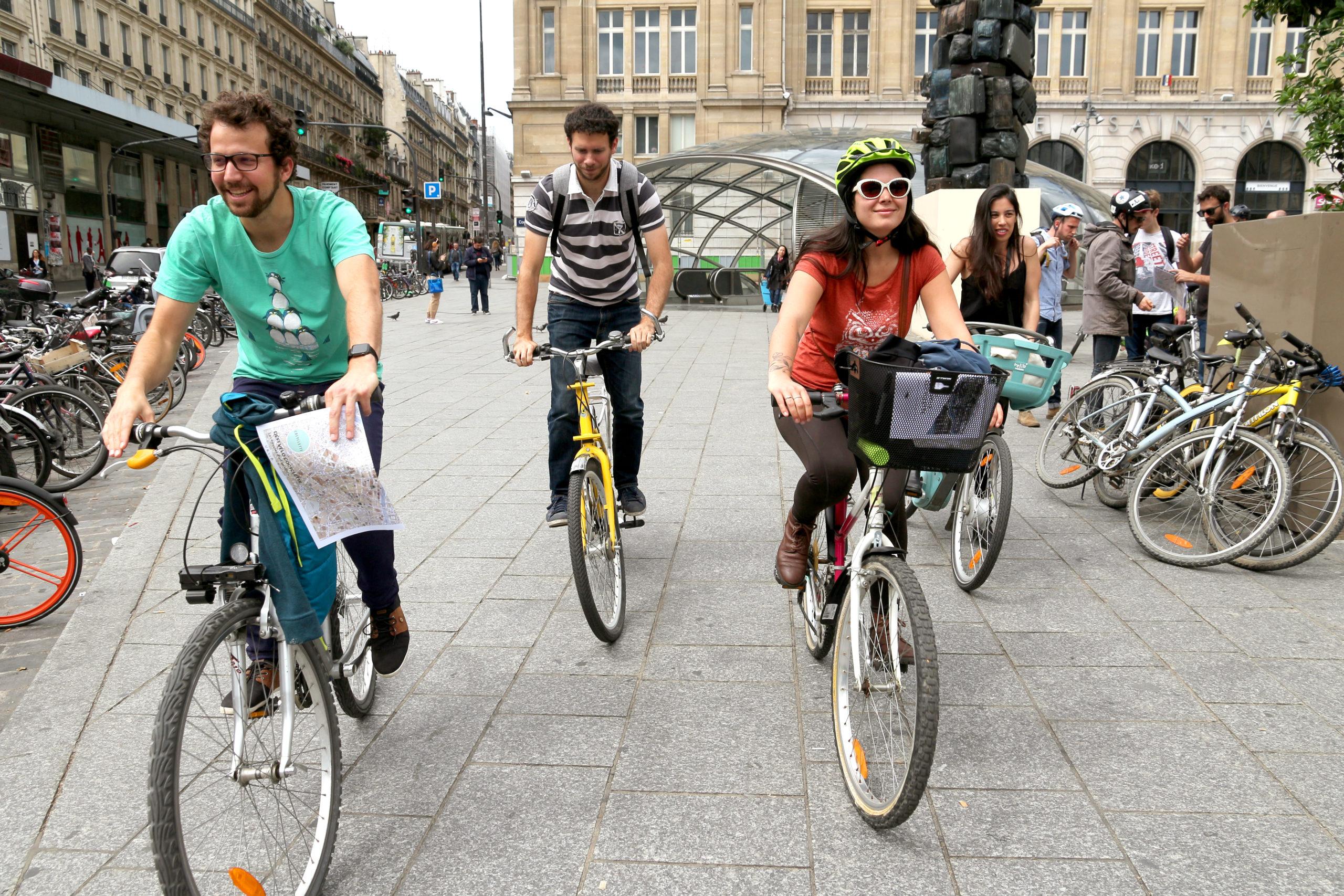cocyclette jeu de piste à vélo teambuilding cohésion équipe lien salariés