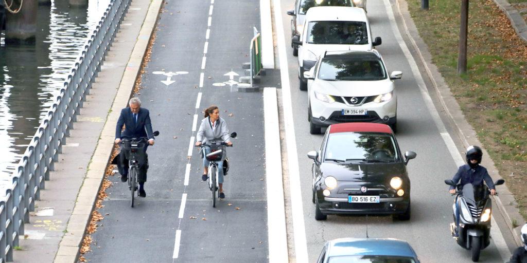 cocyclette vélo piste cyclable fiable pratique rapide